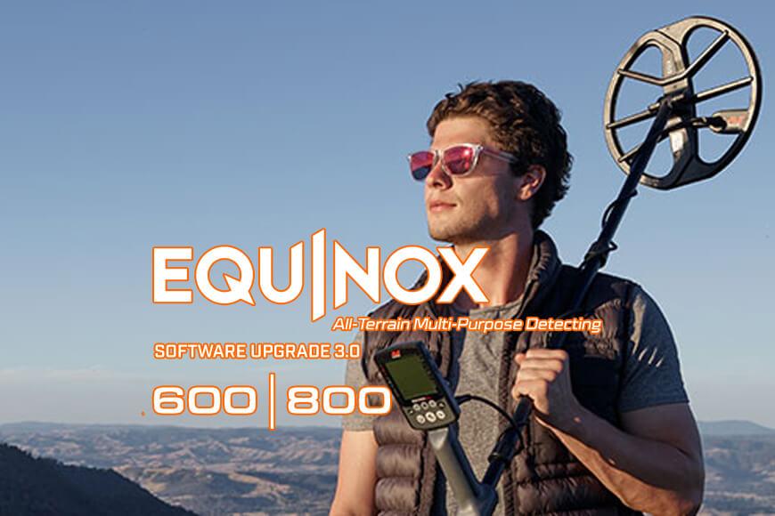 обновление прошивки minelab equinox 3.0