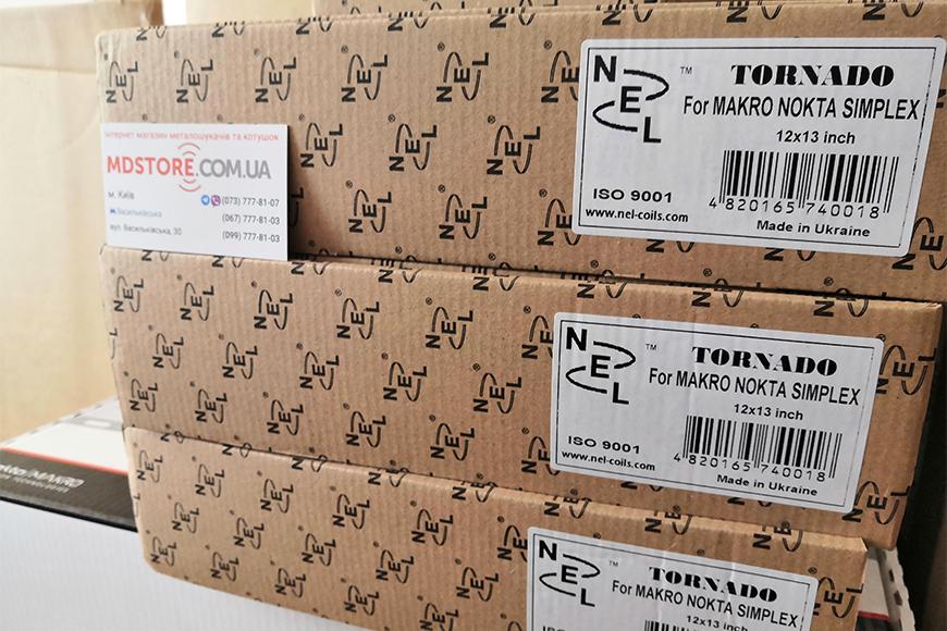 В продаже катушки Nel для Nokta Makro Simplex+