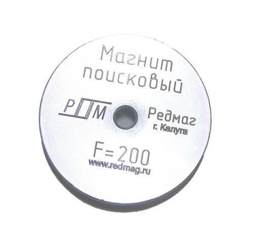 поисковый магнит редмаг F-200 кг