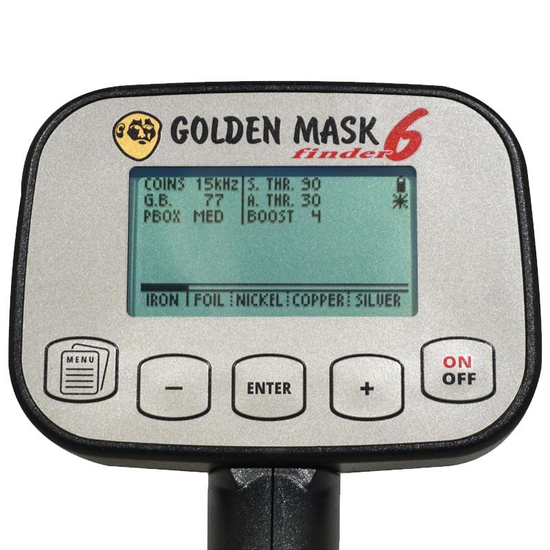 металлоискатель golden mask 6